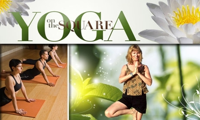 Yoga on the Square - Swissvale: $30 for 30 Days of Unlimited Yoga at Yoga on the Square