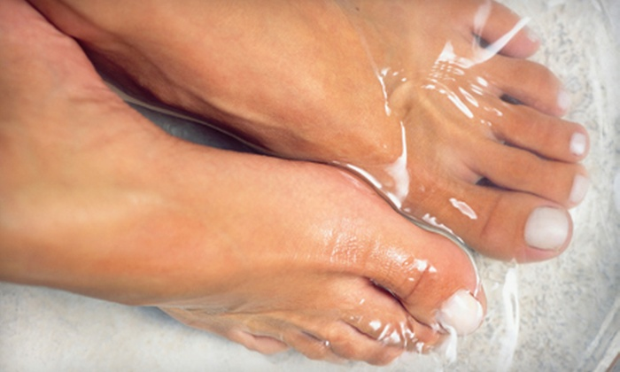Triba Clinic - Prairie Lane: EB-Pro Ion Therapy Footbath or SmoothShapes Cellulite-Reducing Treatments at Triba Clinic