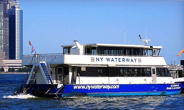 On Cruises: $10 for One Ticket to a Thursday After Work Cruise on the Hudson River from On Cruises ($23 Value)