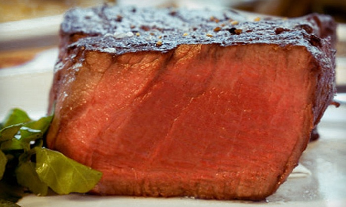 Jack Gibbons Gardens - Forest View Hills: $20 for $40 Worth of Steak and Seafood for Dinner at Jack Gibbons Gardens in Oak Forest. Two Options Available.