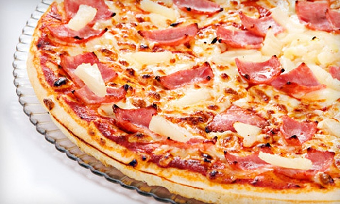 Dino's Cucina - Old Tappan: Pizza Dinner for Two or Four at Dino's Cucina in Old Tappan (Up to 54% Off)