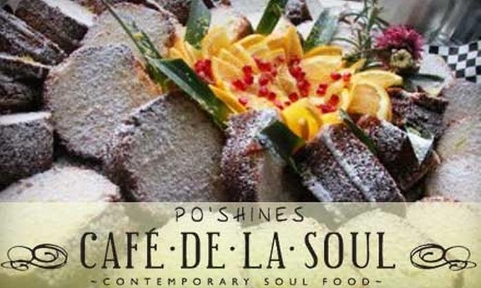 Po'Shines Café De La Soul - Kenton: $10 for $20 Worth of Contemporary Soul Food at Po'Shines Café De La Soul