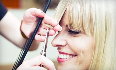 Haircut Package: Includes a Haircut, Conditioning Treatment, and Blow-dry  - Six Degrees Salon and Spa in Manhattan Beach