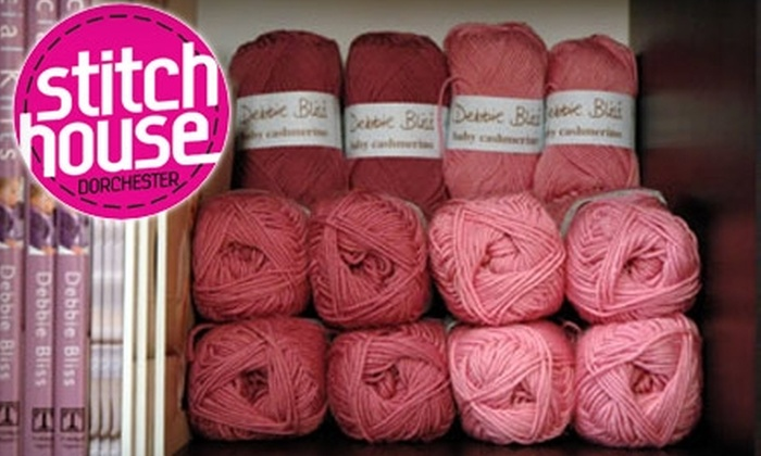 Stitch House - Dorchester: $35 for Four-Week Knit 101 Class at Stitch House