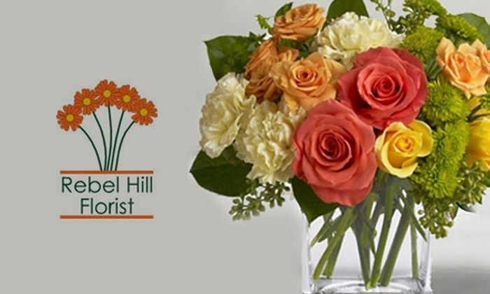 Rebel Hill Florist - Nashville-Davidson metropolitan government (balance): $25 for $50 Worth of Flowers and More at Rebel Hill Florist