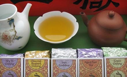 Tea Tasting for 2 (a $30 value) - J-Tea in Eugene