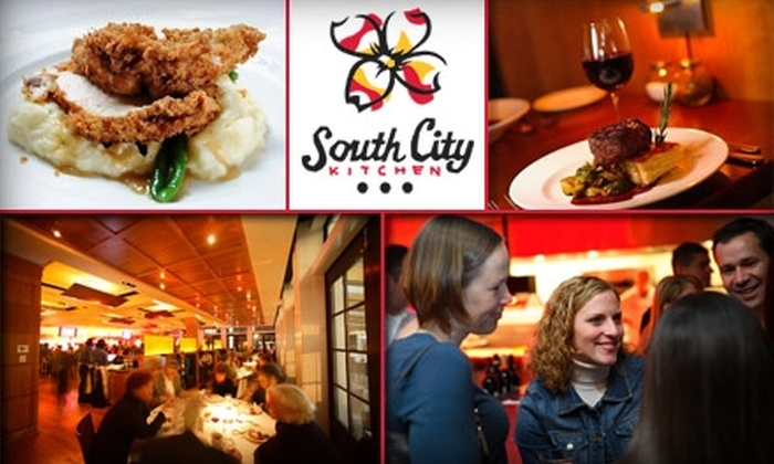 Fifth Group Restaurants - Devonshire Court: $15 for $35 Worth of Gourmet Southern Cuisine at South City Kitchen Vinings