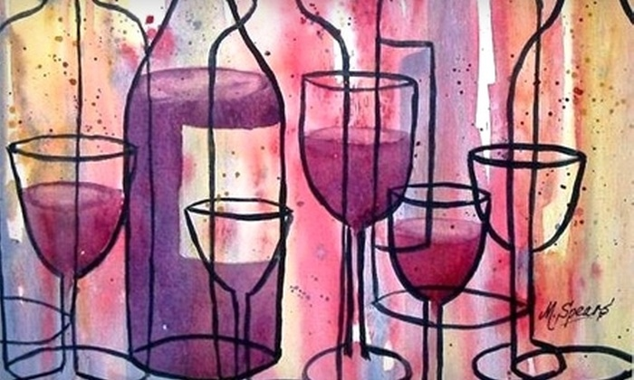 Marty Spears - Edwardsville: $17 for a Three-Hour Watercolor-Painting Class and Bring-Your-Own Wine with Marty Spears in Edwardsville