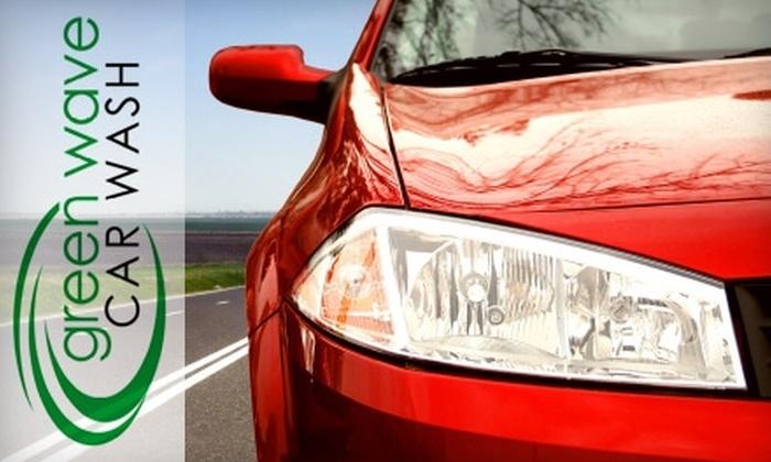 Green Wave Car Wash - North Babylon: $14 for One Ultimate Wash at Green Wave Car Wash in North Babylon