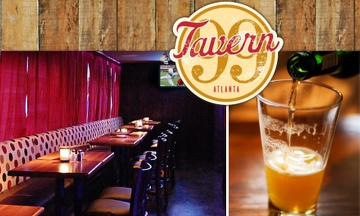 Tavern 99 - Peachtree Heights West: $10 for $25 Worth of Tavern Fare and Drinks at Tavern 99