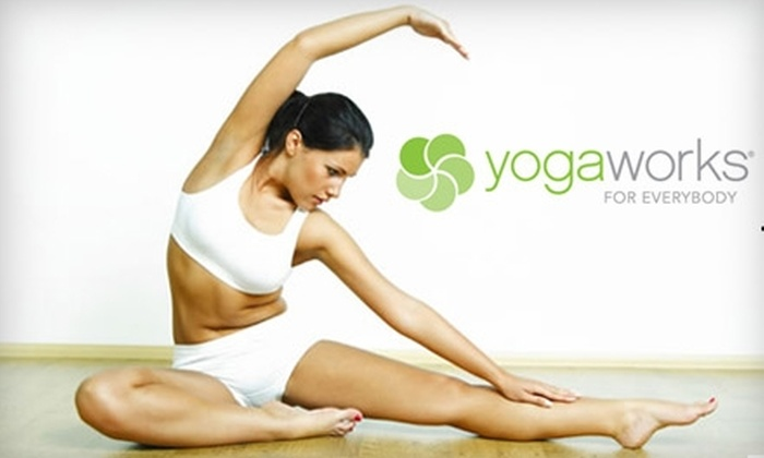 YogaWorks - Multiple Locations: $49 For One Month of Unlimited Yoga Classes at YogaWorks