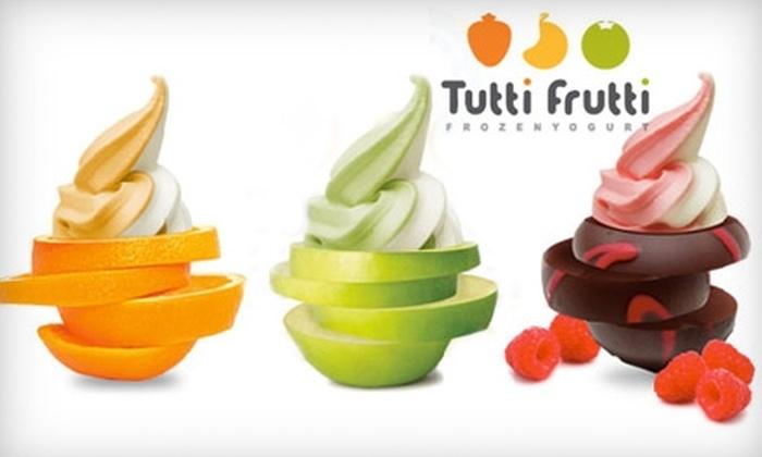 Tutti Frutti Frozen Yogurt - Heritage District: $3 for $6 Worth of Chilled Treats at Tutti Frutti Frozen Yogurt
