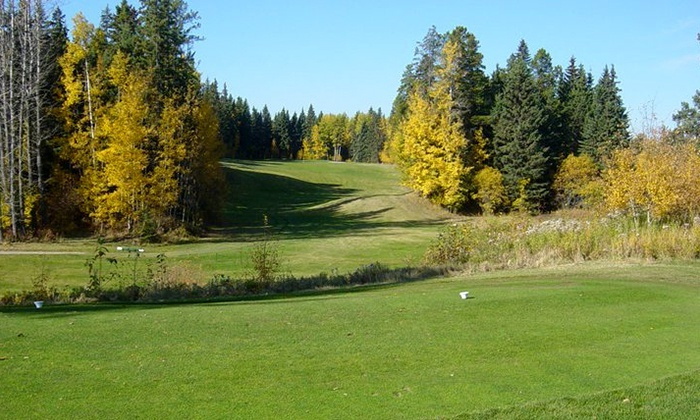 Drayton Valley Golf Club - Drayton Valley: 18-Hole Golf Outing for Two or Four Including Cart Rental at Drayton Valley Golf Club (Up to 61% Off)