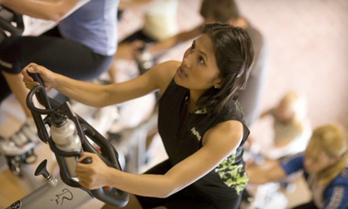 Pedal Spin Studio - Multiple Locations: $30 for Five Spin Classes at Pedal Spin Studio ($65 Value)