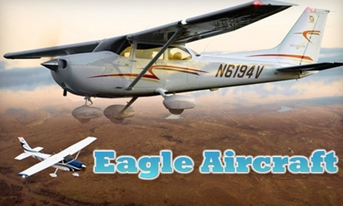 Eagle Aircraft - Washington: $50 for Discovery Flight Experience from Eagle Aircraft ($99 Value) in Valparaiso