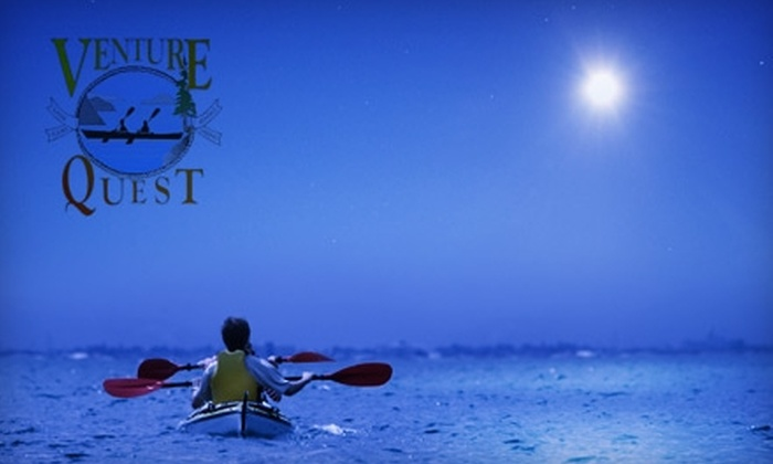 Venture Quest Kayaking - Beach HIll: $25 for a Two-Hour Nature or Moonlight Paddle Tour from Venture Quest Kayaking ($55 Value)