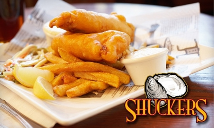 Shuckers of Fells Point - Fells Point: $15 for $30 Worth of Fresh Seafood and More at Shuckers of Fells Point