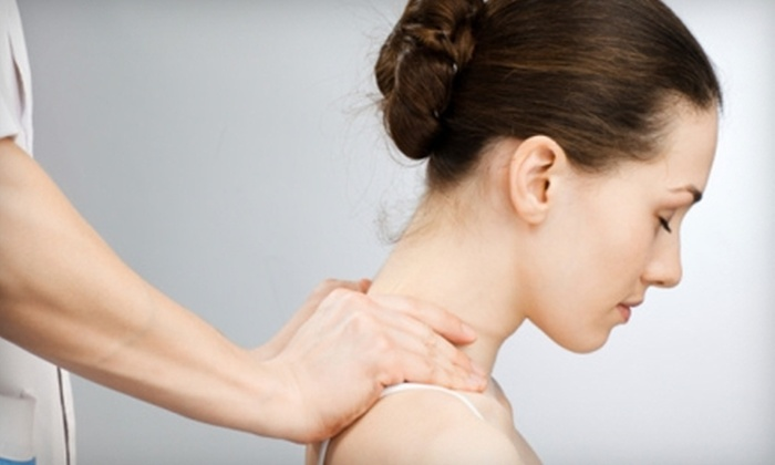 Aaron Chiropractic - Fort Wayne: $40 for 30-Minute Massage, Consultation, and Adjustment ($190 Value) or $40 for Two Acupuncture Sessions ($120 Value) at Aaron Chiropractic