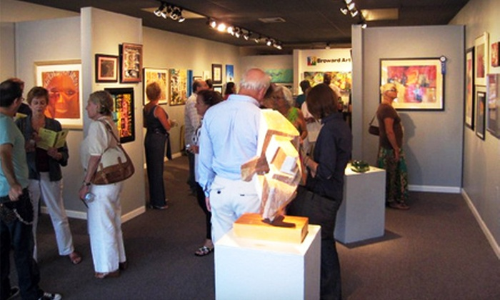 Broward Art Guild - East Fort Lauderdale: $29 for a One-Year Individual Membership to the Broward Art Guild ($60 Value)