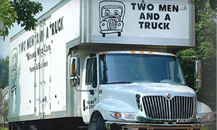 Two Men and A Truck - Kingston / Belleville: $49 for One Hour of Moving Services from Two Men and a Truck ($119 Value)