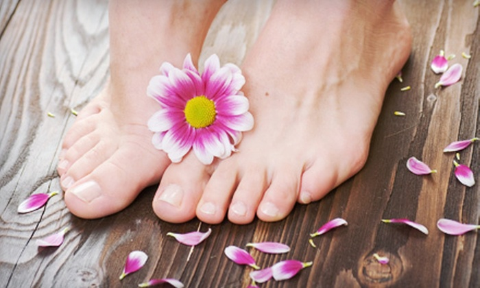 Organic Spatopia - University Place: One or Two Organic Mani-Pedis or One or Two Shellac Manicures and Organic Pedicures at  Green Houston Spa  (formerly Organic Spatopia) (Up to 59% Off)