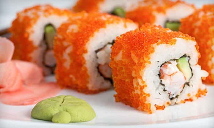 Blue Fin Sushi Bar & Restaurant - Stapleton: $15 for $30 Worth of Japanese Cuisine for Lunch at Blue Fin Sushi Bar & Restaurant