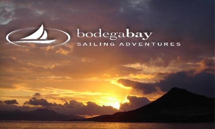 Bodega Bay Sailing Adventures - Russian River-Coastal: $150 for a Three-Hour Sailing Tour for Four People from Bodega Bay Sailing Adventure ($300 Value)