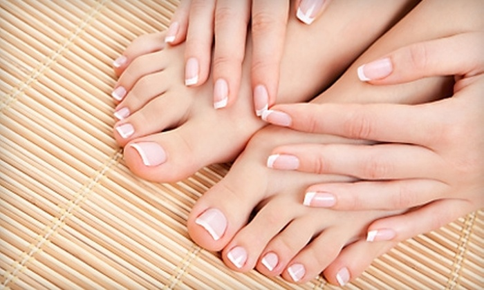 Charmed Salon and Spa - Miller Place: Paraffin Mani-Pedi or Waxing at Charmed Salon and Spa in Miller Place. Two Options Available.