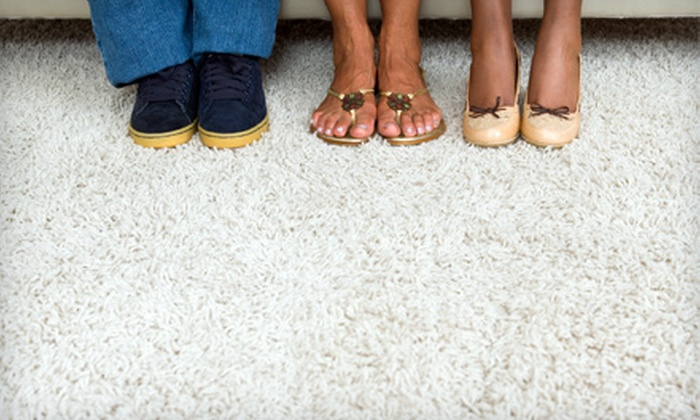 Crystal Cleans Etc. - Trotwood: $50 for Five Rooms of Steam Carpet Cleaning from Crystal Cleans Etc. LLC ($100 Value)