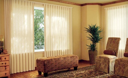 $145 Groupon to Blue Fin Blinds, Shades & Shutters - Blue Fin Blinds, Shades & Shutters in Huntley