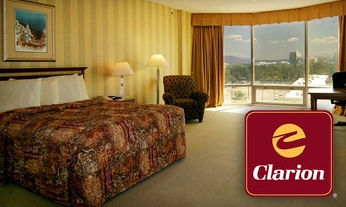 Clarion Hotel and Casino - The Strip: $37 for One Night in a Standard Room at Clarion Hotel and Casino (a $129 Value)