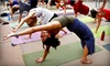 Root Yoga Center - out of business - Highland: $22 for Three Drop-In Classes at Root Yoga Center (Up to $48 Value)