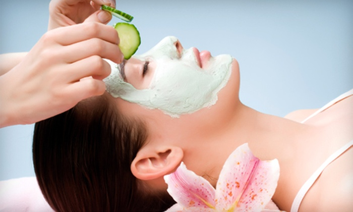 Saving Faces Skin Care Salon - Marina Del Ray: $65 for Facial and Foot Scrub at Saving Faces Skin Care Salon in Marina del Rey ($135 Value) Plus Complimentary Glass of Champagne