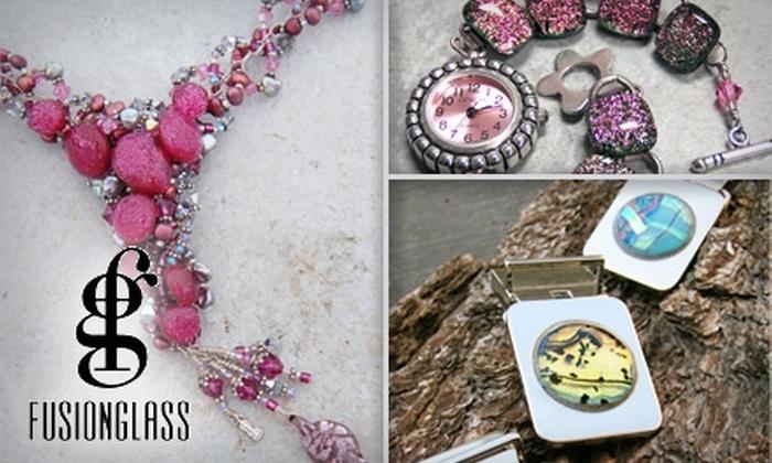 Fusionglass Company - La Mesa: $10 for $40 Worth of Handmade Glass Jewelry at Fusionglass Co. in La Mesa