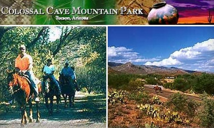 Bandit Outfitters - Tucson: $18 for One 90-Minute Trail Ride at Bandit Outfitters' Colossal Cave Mountain Park Riding Stables ($37 Value)