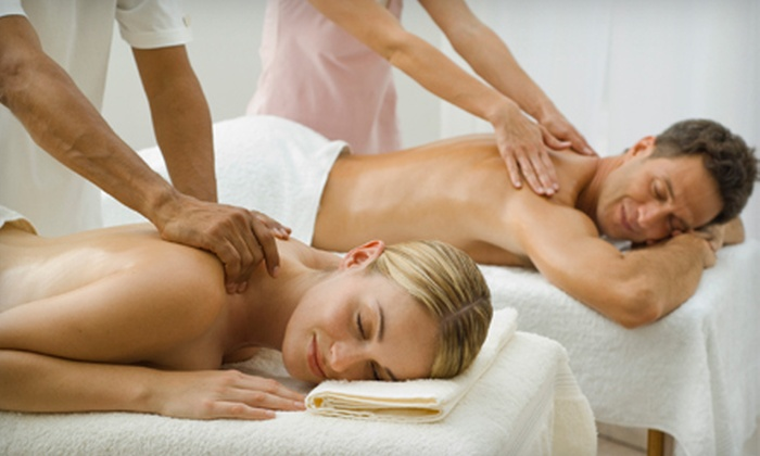 Ahhh! Massage - Sparks: $99 for a Couples Massage and Detoxifying Sauna Session at Ahhh! Massage in Sparks ($230 Value)