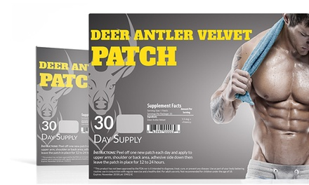 Deer-Antler Velvet Workout-Performance Patches (30-Pack)