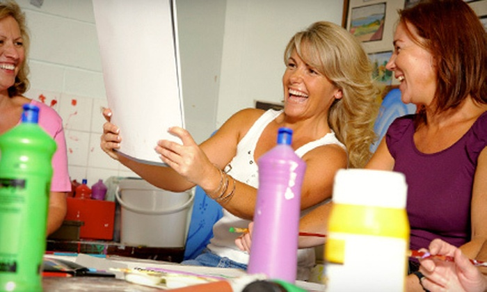 Fine Art Classes With Tal Dvir - Tustin: Painting Class for One or Two from Fine Art Classes With Tal Dvir in Tustin (Up to 60% Off)