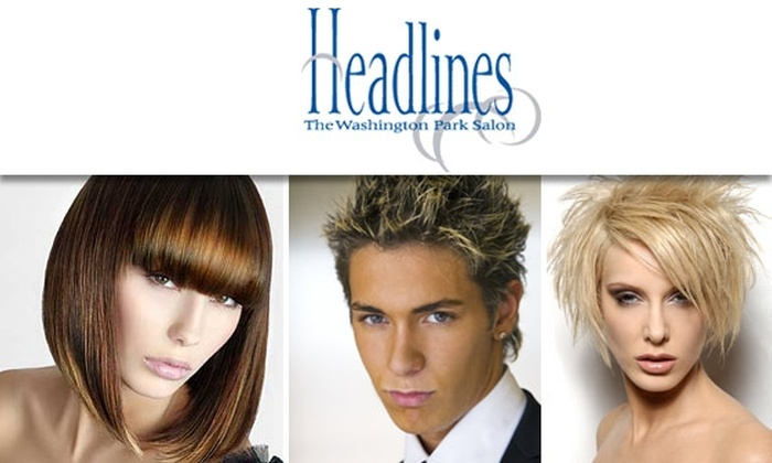 Headlines - The Washington Park Salon - Country Club: $25 for $50 at Headlines: The Washington Park Salon