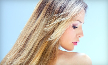 Haircut and Style (a $40 value) - Blondies Salon/Body in Tempe