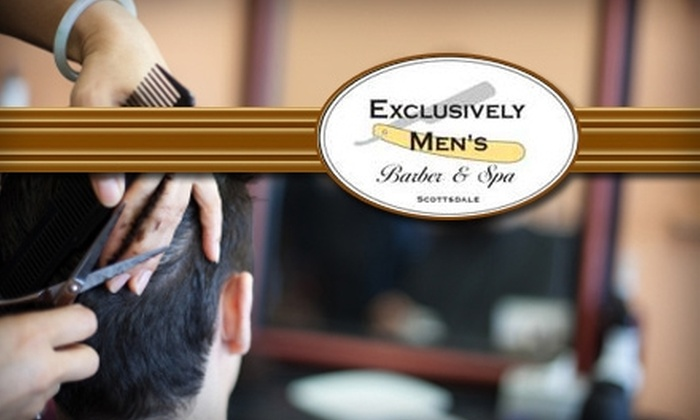 Exclusively Men's Barber & Spa - Paradise Valley: $22 for $45 Worth of Salon and Spa Services at Exclusively Men's Barber & Spa