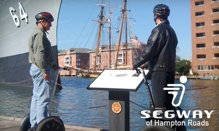 Segway of Hampton Roads - Multiple Locations: $35 for a 60-Minute Segway Tour from Segway of Hampton Roads ($75 Value)