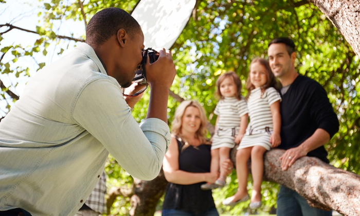 Two Thomas Photography - Multiple Locations: 60-Minute Outdoor Photo Shoot with Retouched Digital Images from Two Thomas Photography (45% Off)