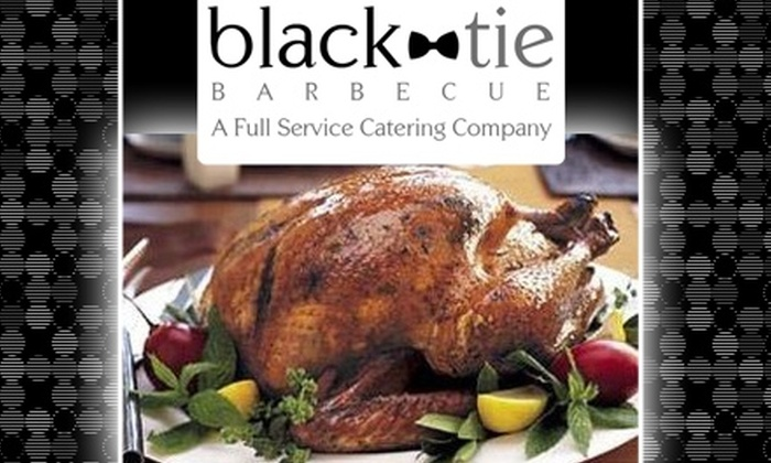 Black Tie Barbecue - Sweet Auburn: $40 for a Fully Prepared Smoked Turkey from Black Tie Barbecue ($80 Value)