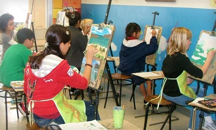 Mission Art Center - Orange: $55 for One Month of Children or Adult Art Classes at Mission Art Center in Orange (Up to $130 Value)