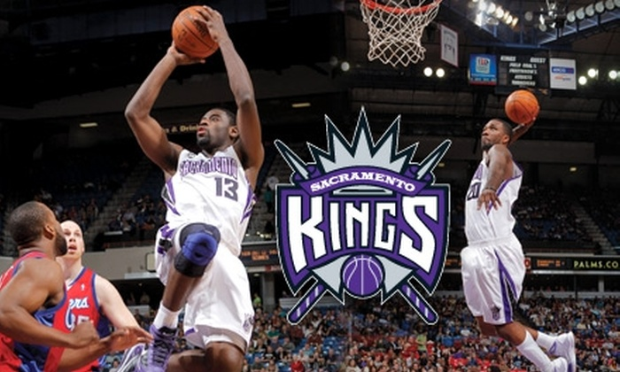 Sacramento Kings - Multiple Locations: Ticket to See the Sacramento Kings on One of Six Nights and $10 Food and Beverage Voucher (Up to $89 Value). Choose Between Two Seating Options.