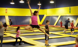 Sky High Sports : Two Hours of Trampoline Jump Time at Sky High Sports (Up to 50% Off)