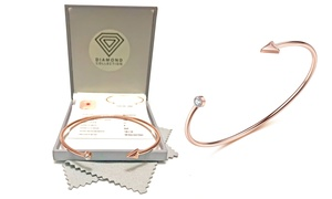 Bracelet diamant/cristal Swarovski®