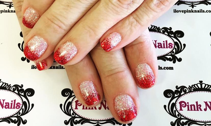Pink Nails - Pink Nails: $22.50 for a Signature Manicure with Take-Home Moisturizers at Pink Nails (Up to 50% Off)