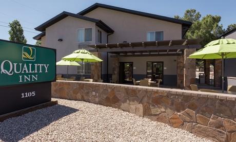 Stay at Quality Inn - Prescott in Arizona. Dates into April. photo
